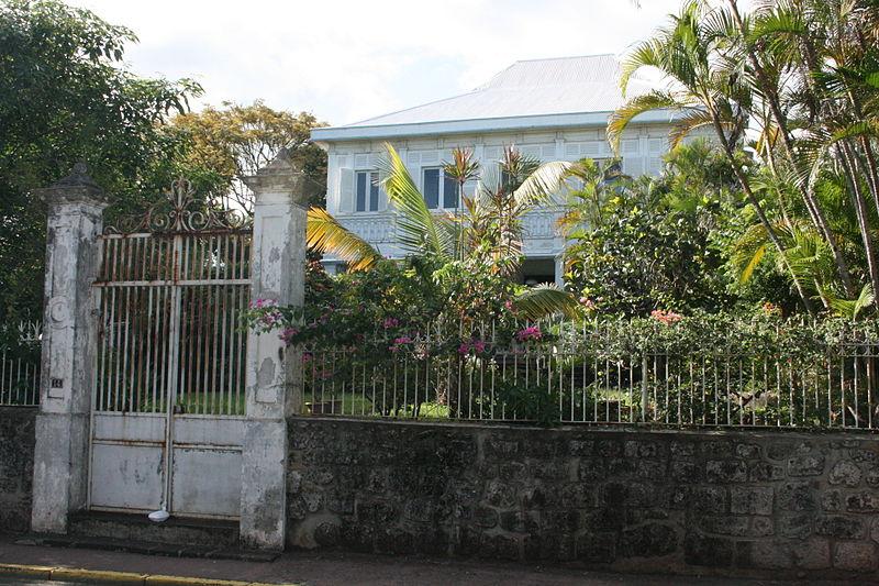 Photo du Monument Historique Maison Levesque situé à Saint-Pierre