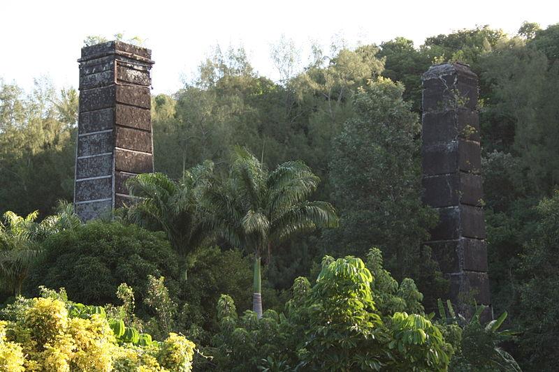 Photo du Monument Historique Cheminée dite de Langevin situé à Saint-Joseph