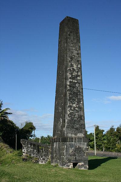 Photo du Monument Historique Cheminée dite du Baril situé à Saint-Philippe