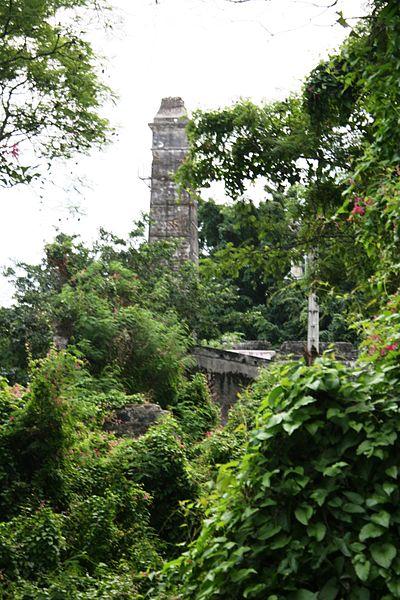Photo du Monument Historique Cheminée dite de La Vallée situé à Saint-Pierre