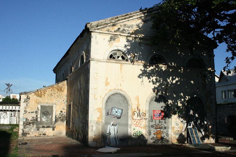 Photo du Monument Historique Ancien tribunal situé à Saint-Pierre