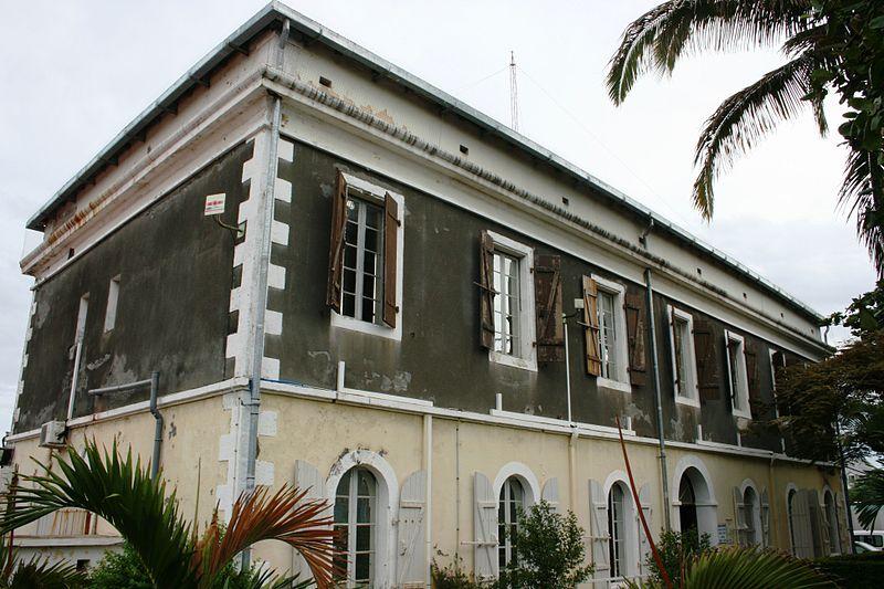 Photo du Monument Historique Ancienne gendarmerie situé à Saint-Pierre