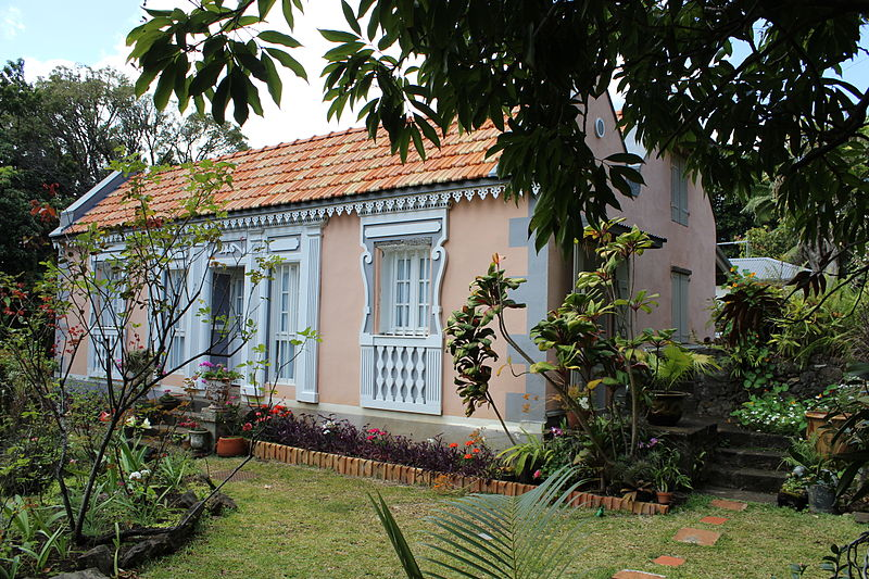 Photo du Monument Historique Maison dite Oudin, à Moufia-les-Hauts situé à Saint-Denis