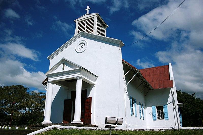 Photo du Monument Historique Eglise paroissiale situé à Sainte-Marie