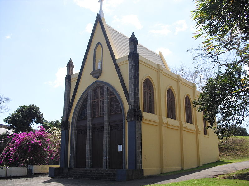 Photo du Monument Historique Chapelle Notre-Dame-de-la Salette situé à Sainte-Marie