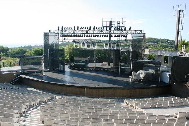 Photo du Monument Historique Théâtre de plein air de Saint-Gilles-les-Bains situé à Saint-Paul