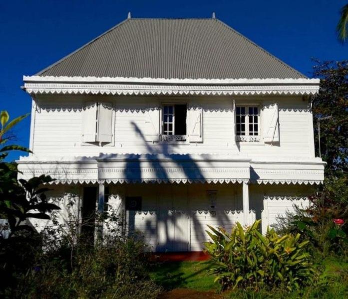 Photo du Monument Historique Villa des Brises situé à Petite-Île