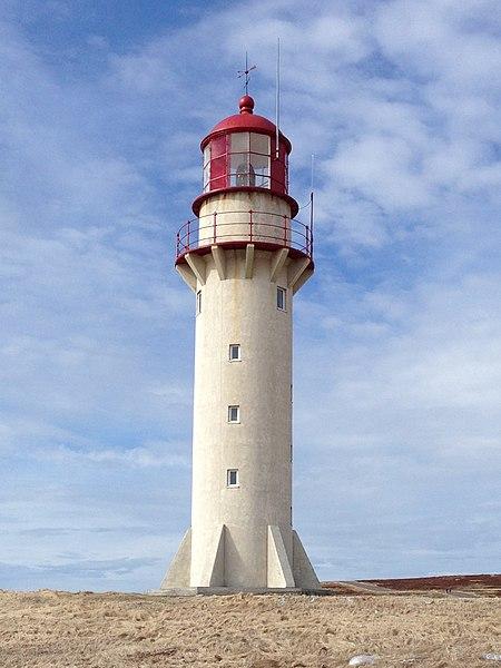 Photo du Monument Historique Phare de Cap Blanc situé à Miquelon-Langlade