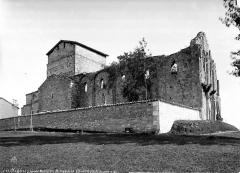 Ancienne abbaye de Puypéroux - Ensemble nord-ouest