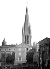 Ancienne abbaye Saint-Pierre - Eglise, clocher