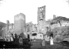 Ancienne abbaye Notre-Dame - Façade sud