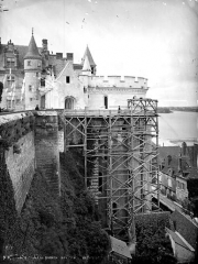 Château - Tour des Minimes, côté est