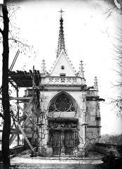 Château - Chapelle Saint-Hubert : façade d'entrée
