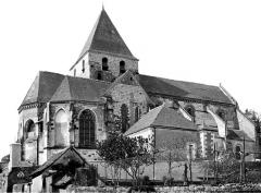 Eglise collégiale Saint-Denis - Façade nord
