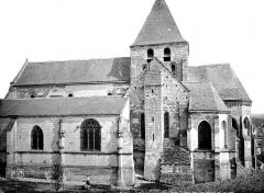 Eglise collégiale Saint-Denis - Façade sud