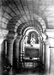 Eglise de la Trinité - Crypte de Ronceray