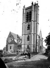 Eglise (collégiale) Saint-Pierre et Saint-Paul - Ensemble sud-ouest