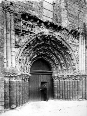 Eglise Saint-Gilles - Portail ouest