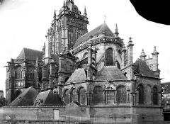 Eglise Saint-Germain - Façade sud-est