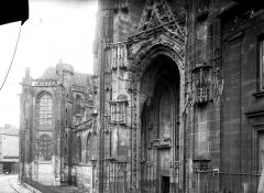 Eglise Saint-Germain - Coupe d'une façade latérale