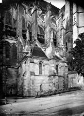 Ancienne cathédrale Saint-Etienne - Sacristie sur la façade nord