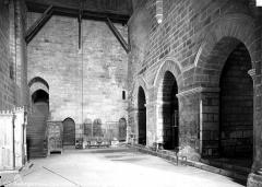 Ancienne abbaye Saint-Etienne - Eglise, intérieur : bas-côté nord