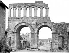 Porte d'Arroux - Ensemble, côté ville
