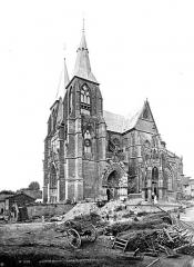 Eglise Notre-Dame - Ensemble sud-ouest, personnages