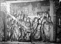 Eglise Saint-Didier - Haut-relief d'un retable : Le Portement de Croix