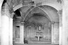 Chapelle et pont Saint-Bénézet - Intérieur, autel