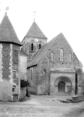 Eglise Saint-Aubin - Ensemble nord-ouest