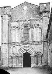 Ancienne église paroissiale Saint-Nicolas - Façade ouest