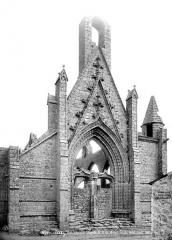 Chapelle Notre-Dame-du-Murier - Ruines, façade ouest
