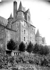 Château de Baugé - Façade, côté sud