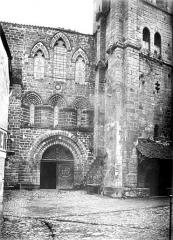 Ancienne abbaye - Façade ouest
