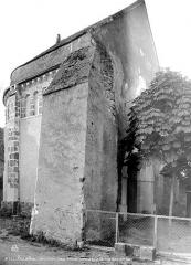 Eglise - Extérieur, choeur roman de l'ancienne église : côté nord-ouest