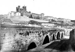 Vieux pont sur l'Orb - Vue générale