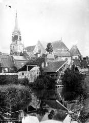 Eglise Notre-Dame-de-la-Couture - Ensemble sud, vue générale