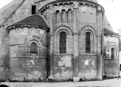 Eglise Saint-Germain - Abside, côté nord
