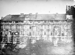Château de Blois - Façade François Ier, état avant restauration