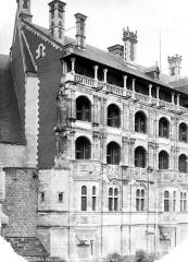 Château de Blois - Grand pignon nord-est, état après restauration