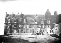 Château de Blois - Façade Louis XII, état avant restauration