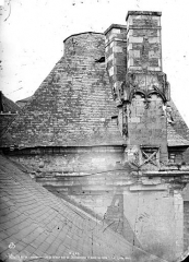 Château de Blois - Tour de Châteaurenault : couronnement, état avant restauration