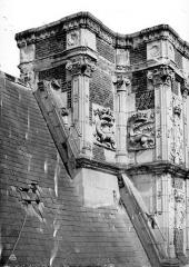 Château de Blois - Partie François Ier : souche de cheminée