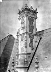 Château de Blois - Partie François Ier : souche de cheminée, état après restauration