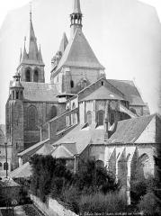 Eglise Saint-Nicolas-Saint-Lomer - Abside, côté sud