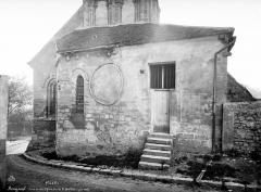 Eglise Notre-Dame - Abside et sacristie