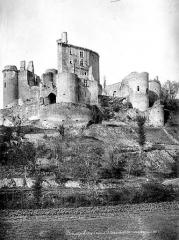 Château de Bonaguil - Ensemble, côté sud-ouest