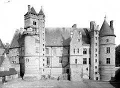 Hôtel ou Palais Jacques-Coeur - Façade sud-ouest