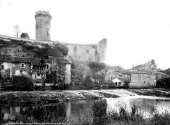Château - Ensemble, côté de la rivière